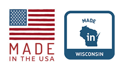 Made in the USA Made in Wisconsin